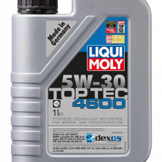 Ulei motor Liqui Moly Top Tec 4600 5w-30- api sm/cf;opel dexos2- 1 l