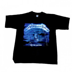 Tricou Rock Metallica - Ride The Lightning - Tricou barbati, Marime: S