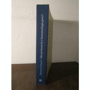 Idei privitoare la o fenomenologie pura...  E. Husserl