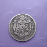 5 lei 1881 Raritate !!! Stea întoarsă după Patria