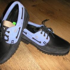 Pantofi barbat TIMBERLAND ed.limitata originali noi piele integral 43, Culoare: Multicolor, Piele naturala, Casual