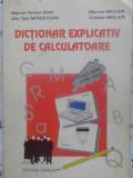 Dictionar Explicativ De Calculatoare Englez-roman, Roman-engl - Marcel-toader Ban, Alin-tavi Mirestean, Manual Mic,414160