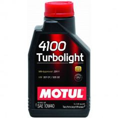Ulei motor Motul 4100 Turbolight, 10W40, 1L