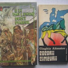 Cinghiz Aitmatov - O Zi Mai Lunga Dacat Veacul + Cocorii Timpurii (2 carti) - Roman