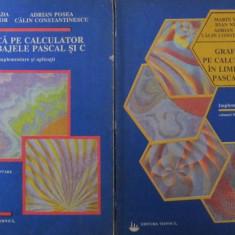 Grafica pe calculator in limbajele Pascal si C (2 vol.) - Marin Vlada , ...