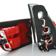 Triple BMW X5 E53 09.99-06 RED SMOKE LED