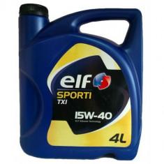 Ulei motor Elf sporti txi 15w-40- 4l