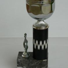 Cupa din marmura popice - Metal/Fonta