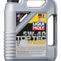Ulei motor Liqui Moly Top Tec 4100 5w-40- api sn/cf; acea a3/b4/c3 (3701)- 5 l