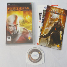 Joc Sony PSP - God of War Chains of Olympus - complet - Jocuri PSP Capcom, Role playing, Toate varstele, Single player