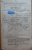 Documente evreiesti din Bucuresti , 1927 ; Uniunea cantorilor evrei