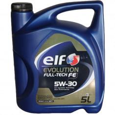 Ulei motor Elf evolution full-tech fe 5w-30- 5l