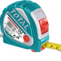Ruleta 5m x 19mm - buton 3 functii - Ruleta masura