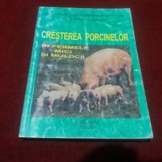 GHEORGHE STEFANESCU - CRESTEREA PORCINELOR IN FERMELE MICI SI MIJLOCII