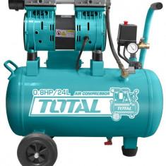 Compresor aer fara ulei - 24L - 8 bar - 600W