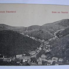 Carte postala Anina (jud. Caras-Severin, Banat) circulata in anul 1916 - Carte Postala Banat 1904-1918, Printata