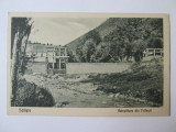 Carte postala necirculata Saliste,astupatura din Foltesti aprox.1920