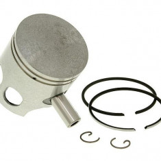 Set piston scuter 2T Aprilia/Yamaha/Malaguti 80cc, 47.50mm, bolt 10mm