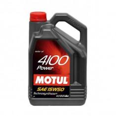 Ulei motor Motul 4100 Power 15W50, 4L