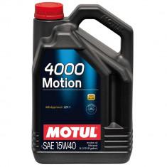 Ulei motor Motul 4000 Motion 15W40, 5L