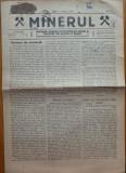 Ziarul Minerul , an 1 , nr. 2 , 3 , 4 , Sibiu , 1919 , bilingv