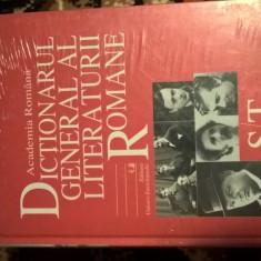 Dictionarul General al Literaturii Romane, Vol. VI (S-T), (Academia Romana 2007)
