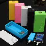 5600mAh 2X 18650 USB Power Bank carcasa, 5600 mAh, Case Power