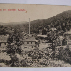Carte postala Anina (jud. Caras-Severin, Banat) circulata in anul 1911 - Carte Postala Banat 1904-1918, Printata