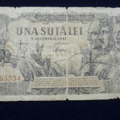 100 LEI 5 DECEMBRIE 1947