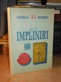 REGIONALA CAI FERATE BUCURESTI : MARTURII SI IMPLINIRI , 1919-1984
