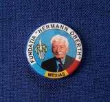 Insigna Fundatia Hermann Oberth - Medias - Aviatie - Cosmonautica