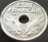 Moneda istorica 10 Centimes - FRANTA, anul 1941  *cod 3705   DEPUNERE BULE ZINC