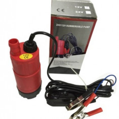 Pompa submersibila electrica transfer combustibil   12V AL-190318-2