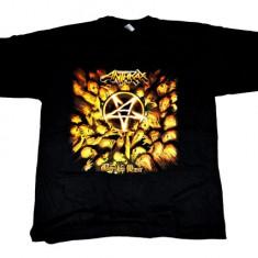 Tricou ROCK Anthrax  worship music