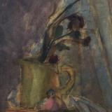 H.H. Catargi - Cana cu flori , guasa vernisata, Altul