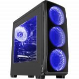 Carcasa gaming Genesis Titan 750 Blue, Nu