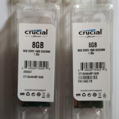 Sodim DDR3L Crucial 8Gb DDR3L, DDR3, 8 GB, 1600 mhz