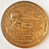 MEDALIE HENRI COANDA 100 DE ANI EXPOZITIA FILATELICA AEROMFILA AVIATIE CRAIOVA