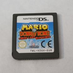 Joc Nintendo DS 3DS 2DS - Mario vs Donkey Kong Mini-Land Mayhem!, Toate varstele, Single player