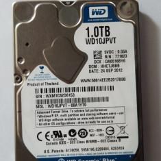 HDD laptop Western Digital WD Scorpio Blue 1Tb 5400 RPM 8Mb, Peste 1 TB, SATA2