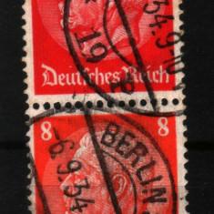 1933 germania mi 487-485 stampilate
