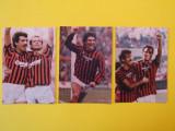 Lot 3 foto fotbalisti - AC MILAN (Paolo Rossi,Virdis,Hateley,Wilkins)
