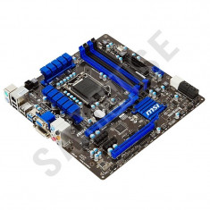 KIT INTEL I3, MSI H77MA-G43, Socket LGA1155 + Procesor Intel I3 2120 3.3GHz + Cooler - Placa de Baza