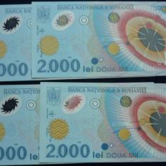 2000 LEI 1999 ECLIPSA - Bancnota romaneasca