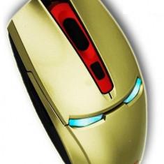Mouse gaming OEM Banda-V6 Auriu, USB