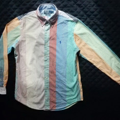 Camasa Polo by Ralph Lauren Custom Fit. Marime M, vezi dimensiuni exacte;ca noua - Camasa barbati, Marime: M, Culoare: Din imagine