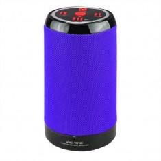 Boxa portabila bluetooth Wster WS-1812, USB, Albastru