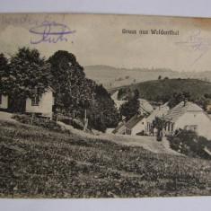 Carte postala Brebu Nou Weidenthal (jud. Caras-Severin, Banat) - Carte Postala Banat 1904-1918, Circulata, Printata