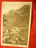 Ilustrata Baile Herculane - Vedere Generala 1936 Impr.H.Costovici, Circulata, Printata