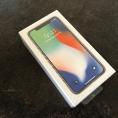 IPhone X 64GB Silver SIGILAT, neverlocked, Garantie 12 luni-4049 LEI ! Okazie - Telefon iPhone Apple, Argintiu